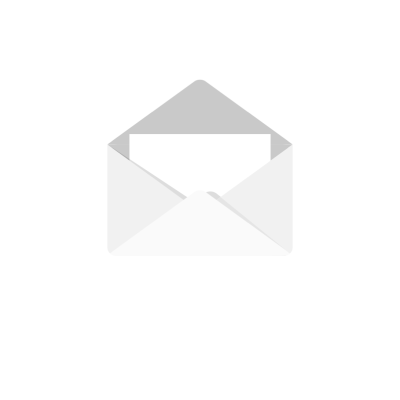 Opened mail letter envelope clipart illustration