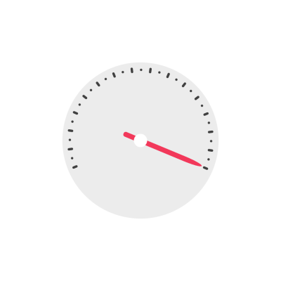 Speedometer clipart illustration icon with png transparent background