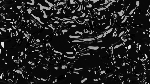 Black Liquid Free PNG Background