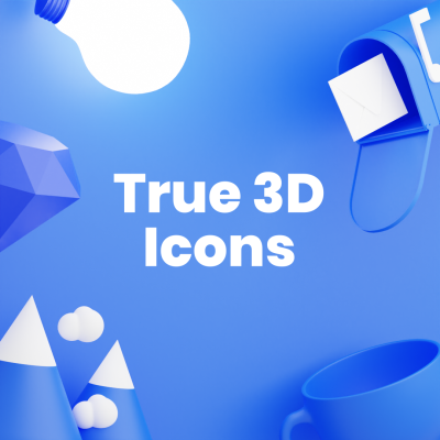 True 3D Icons Collection