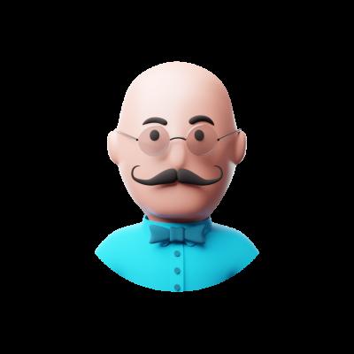 3D artist avatar png