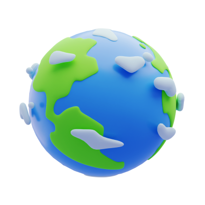 Earth 3D Emoji