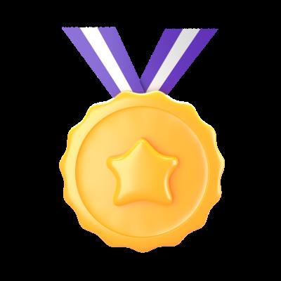 🏅 png medal 3d