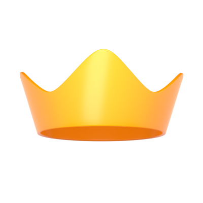 3d crown png