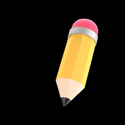 pencil emoji 3d png